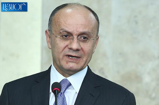 Считаю, что сегодняшняя армия полностью контролирует ситуацию на границе – Сейран Оганян
