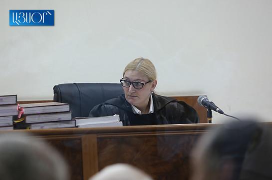 Judge Anna Danibekyan rejects recusal petition