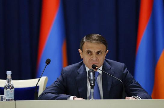 Валерий Осипян освобожден с должности главного советника премьер-министра Армении