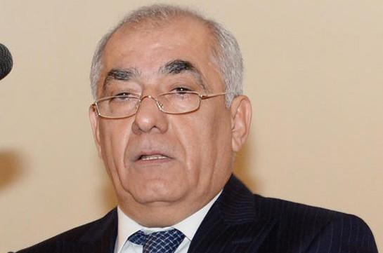 Новым премьером Азербайджана может стать Али Асадов