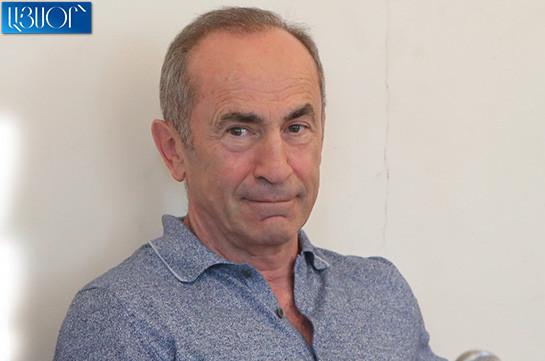 Находящийся под арестом экс-президент Армении Роберт Кочарян прооперирован