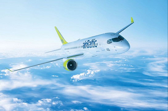 AirBaltic airline to implement Yerevan-Riga-Yerevan flights from May 2020