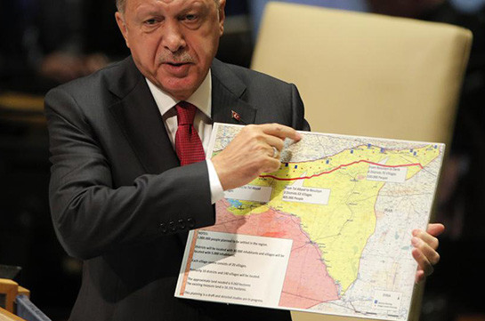 Turkey's president initiates military actions on border with Syria to divert people's attention from domestic political problems: expert