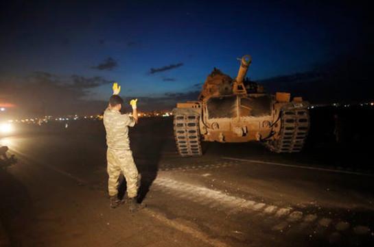 ԱՄՆ-ն «կարմիր լույս» է տվել Սիրիայում Թուրքիայի գործողություններին և հրաժարվել է աջակցությունից