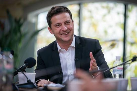 Зеленский более 14 часов общался с журналистами