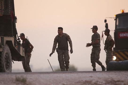 Минобороны Турции сообщило о ликвидации 415 боевиков в ходе операции Сирии
