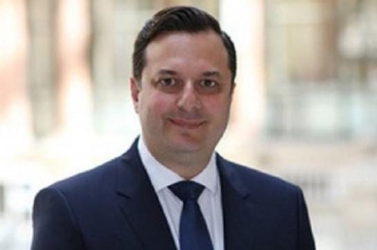 Алан Гогбашян не займет должности посла Великобритании в Армении
