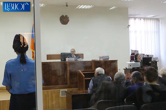 Анна Данибекян отложила судебное заседание по делу второго президента Армении Роберта Кочаряна и других