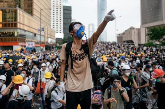 Հոնգկոնգում բողոքի ցույցերի ընթացքում ձերբակալվել է ավելի քան 2,2 հազար մարդ