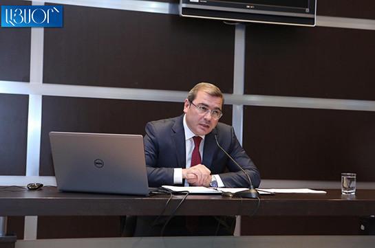 Возврат НДС и подоходного налога составляет в этом году 86.7 млрд. драмов – Давид Ананян
