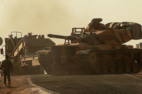 Թուրքիան հայտարարել է Սիրիայում գործողությունների ընթացքում 637 գրոհայինի չեզոքացնելու մասին