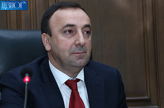 SIS investigator visits Republican party office to seize Hrayr Tovmasyan's membership termination materials