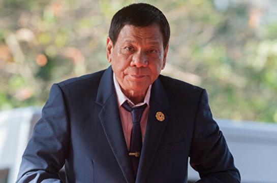 Ֆիլիպինների նախագահը մոտոցիկլետից ընկել է
