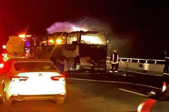 Saudi Arabia bus crash leaves 35 Arab and Asian expatriates dead