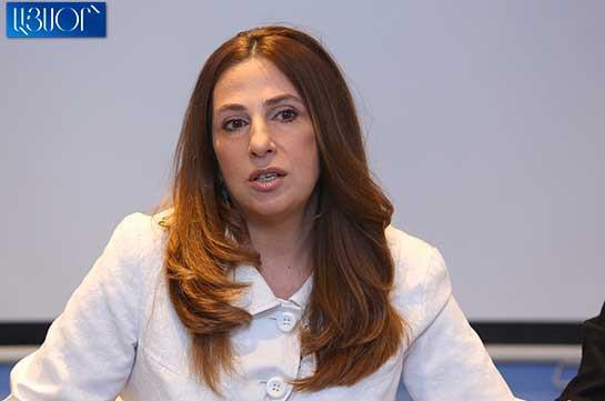 Свобода слова сегодня попирается из политических соображений – Заруи Постанджян