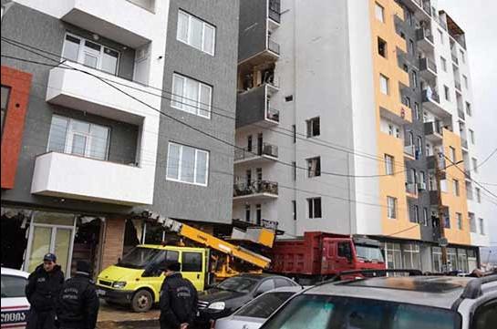 Թբիլիսիի բնակելի շենքում պայթյուն է տեղի ունեցել