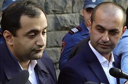 Hrayr Tovmasyan's defense team responds to NSS' second press release. Tert.am