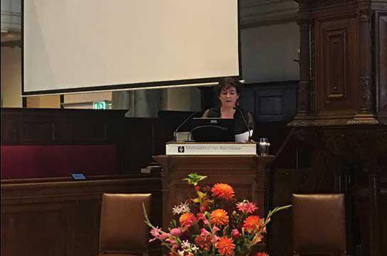 В Амстердамском университете состоялась защита докторской диссертации Сары Кромбах «Зия Буниатов и сочинение о прошлом Азербайджана»