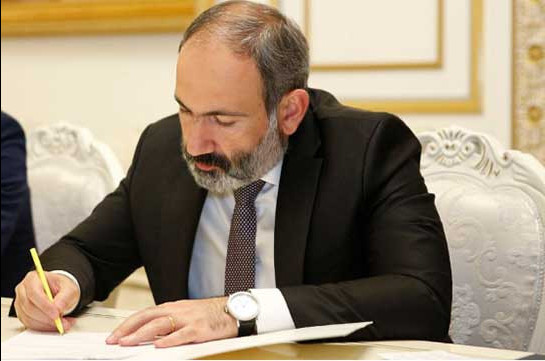 Armenia's PM releases director of Rescue Service