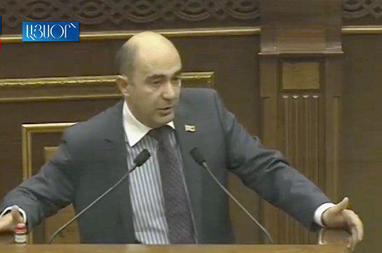 Это просто позор – Эдмон Марукян о повышении зарплат министров секретным приказом Никола Пашиняна