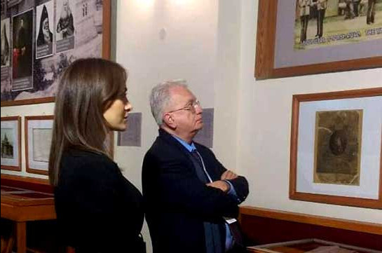 ՌԴ Պետական Էրմիտաժի և Խաչատուր Աբովյանի տուն-թանգարանի միջև համագործակցության հիմքեր կդրվեն. Միխայիլ Պիոտրովսկին այցելել է թանգարան