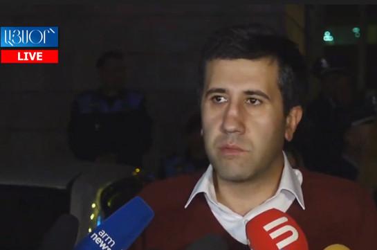 Arsen Babayan is political prisoner: human rights advocate