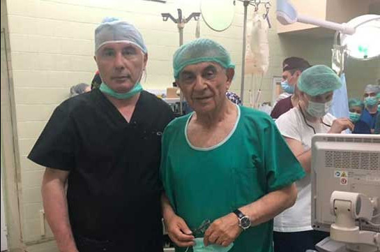 SIS forces Ara Babloyan leave extremely important liver transplantation surgery of a child for interrogation