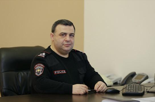 Պաշտոնից ազատվել է ոստիկանության շտաբի պետ Հովհաննես Քոչարյանը