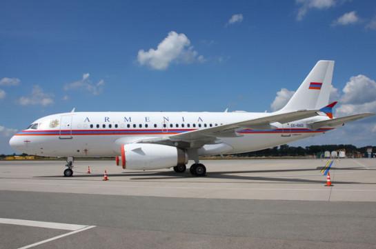 В Армении обсуждают возможность покупки нового правительственного самолета