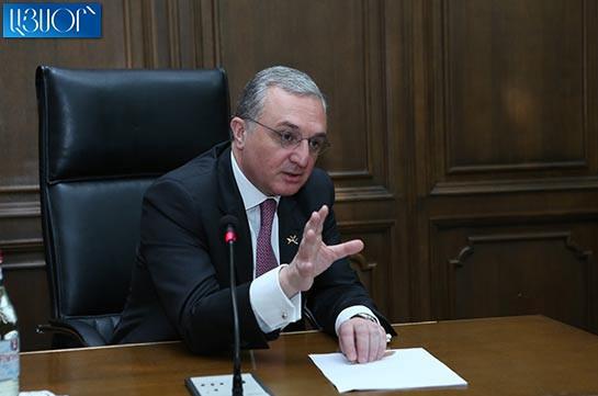 Если в переговорах будет проявлен общий конструктивный подход, можем очень быстро продвинуться – Зограб Мнацаканян