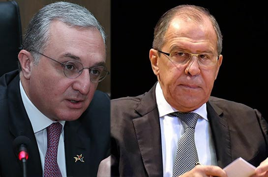 Upcoming visit of Russian FM to Armenia to be official: Zohrab Mnatsakanyan