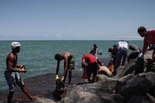 Brazil oil spill: Greek-flagged tanker believed to be source
