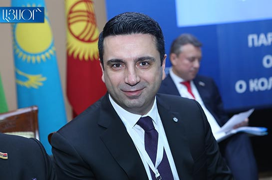 Armenia does not discuss issue of withdrawal from CSTO: Alen Simonyan