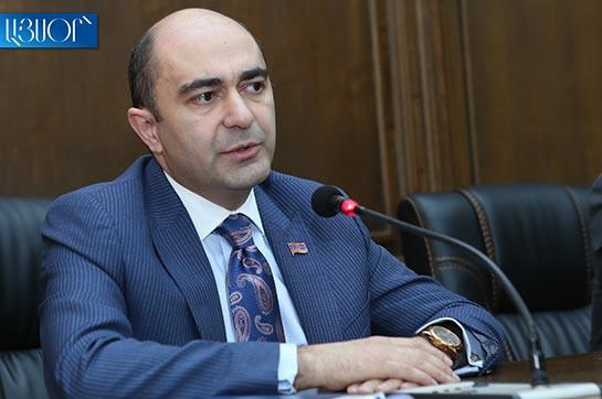 Обращение в ОДКБ из-за 5 выстрелов будет означать, что армянская армия недостаточно боеспособна – Эдмон Марукян