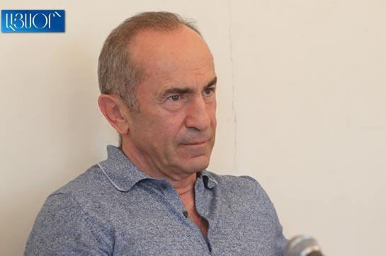 Решение по ходатайству об освобождении Роберта Кочаряна под залог будет оглашено 7 ноября