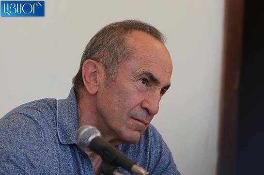 No grounds for keeping me under custody: Kocharyan