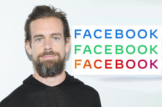 Глава Twitter высмеял новый логотип Facebook