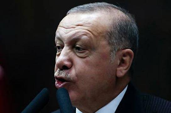 Эрдоган заявил, что курдские формирования не вывели своих бойцов с северо-востока Сирии