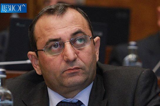 ARF-D SB representative Arstvik Minasyan summoned to IC for interrogation in the status of witness