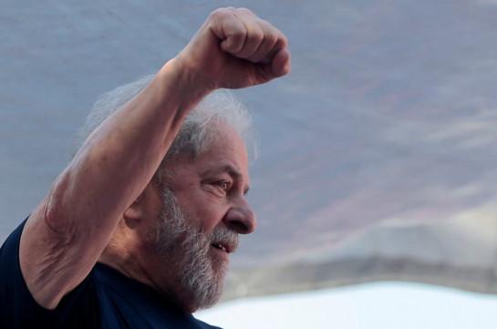Экс-президент Бразилии Лула да Силва получил возможность выйти на свободу