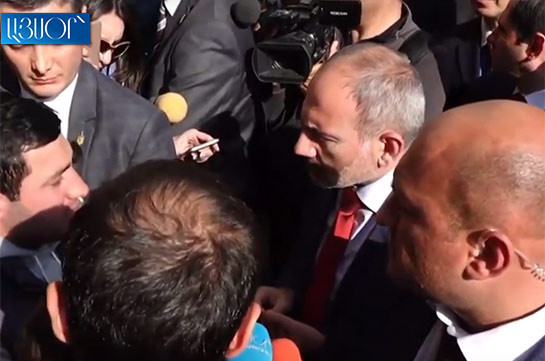 Armenian side funds Mel film's small part, telling about champion: Armenia's PM to protesters
