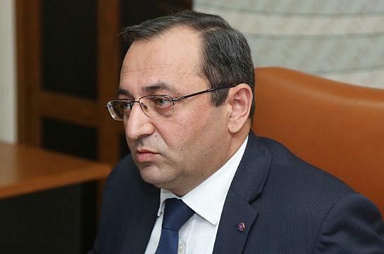 Arayik Harutyunyan does not realize his commitments and should be subjected to criminal persecution: Artsvik Minasyan