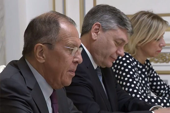 Changes in Armenia had no influence on continuous development of Armenian-Russian relations: Lavrov