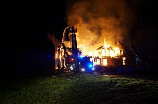 В Курской области при пожаре погибли три ребенка