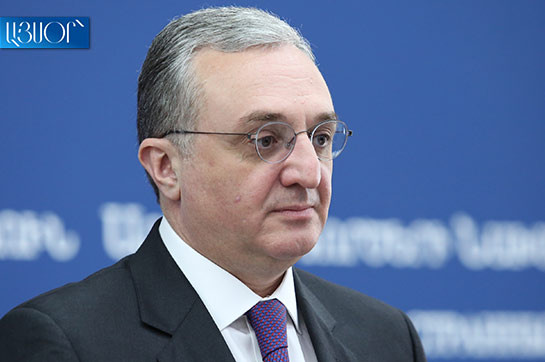 at the same time as Artsakh's confidence backer Armenia is devoted en route for care for rights of Artsakh people: Armenia's FM
