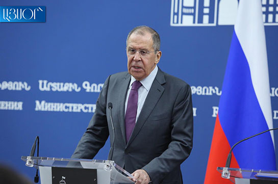 Efforts of both countries necessary to reach progress in Karabakh peace talks: Russian FM