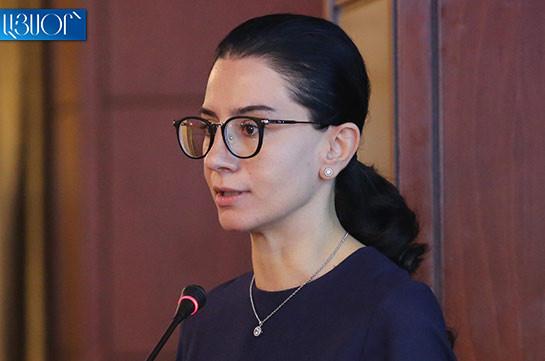 Освобождение Анны Вардапетян обусловлено возможными структурными изменениями в министерстве юстиции