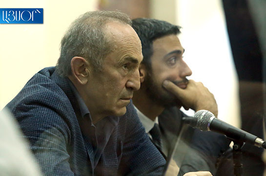 Robert Kocharyan's defense team submits recusal motion to judge Danibekyan