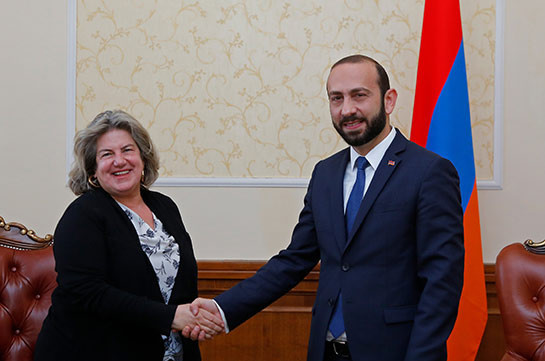 Арарат Мирзоян попрощался с послом Греции в Армении