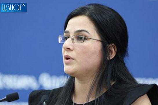 Армения и Азербайджан не ведут никаких переговоров по какому-либо конкретному документу – Анна Нагдалян